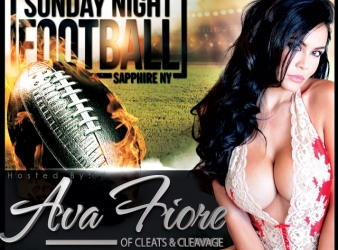 Sunday night football at Sapphire New York